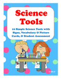 SCIENCE TOOLS {10 Signs, Matching Cards, & More} K/1st/2nd