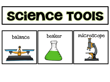 Science Tools: Poster for NGSS Elementary Classroom | TpT