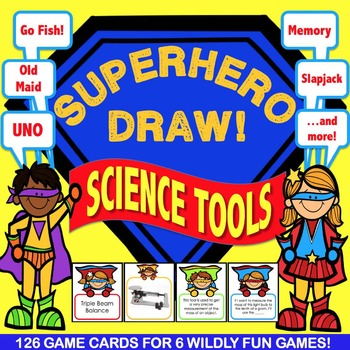 Science Tools Activities: 6 Science Tools Games