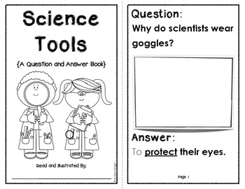 science tools a question answer early science reader by andrea knight. Black Bedroom Furniture Sets. Home Design Ideas