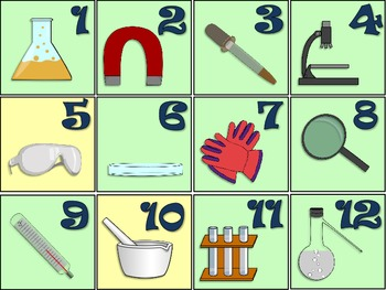 Science Tools Calendar Set