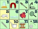 Science Tools Calendar Set