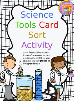Science Tools Card Sort Activity