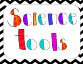 Science Tools Chevron Posters