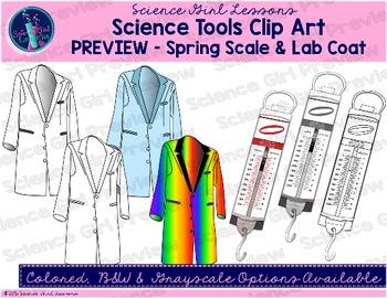 Science Tools Clip Art {Mega Pack}