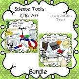 Science Tools Clip Art Bundle