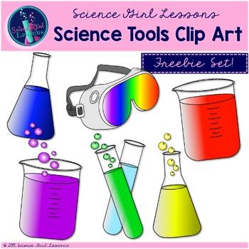 Science Tools Clip Art {FREEBIE}