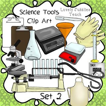 Science Tools Clip Art Set 2