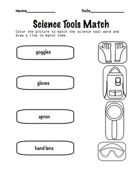 Science Tools Color Match