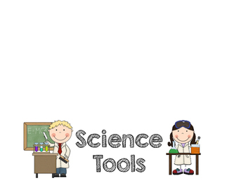 Science Tools Flip Book