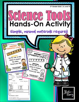 Science Tools Hands-On Activity/Stations - Minimum Prep - Maximum Engagement