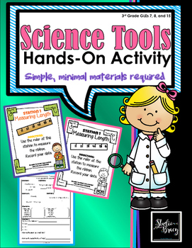 Science Tools Hands-On Activity/Stations - Minimum Prep -