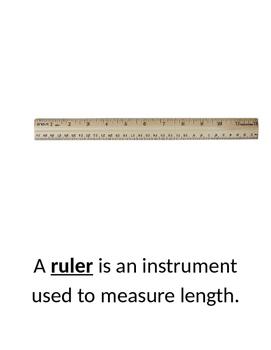 Science Tools/Instruments Gallery Walk