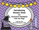 "Science Tools - Interactive Notebook ""Flaps"""
