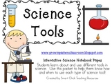Science Tools ~ Interactive Science Notebook Pack
