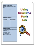 Science Tools Lab Booklet