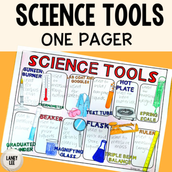 Science Tools One Pager