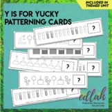 Science Tools Patterning Cards - Black & White Version