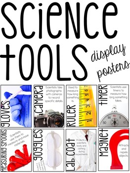 Science Tools Photo Posters