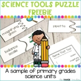 Science Tools Puzzles | A Science Center for Primary Grades