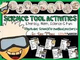 Science Tools-Science, Math and Literacy Activities Flip Book Craftivity