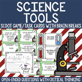 Science Tools Scoot Game/Task Cards