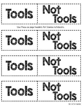 Science Tools Sort {FREEBIE}