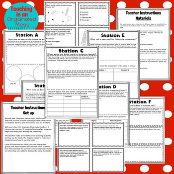 Science Tools Stations