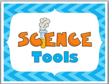 Science Tools Illustrated Science Word Wall & Graphic Organizers & Printables