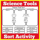 Science Tools Worksheet Activity