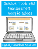 Science Tools and Measurement Google Classroom Distance Learning