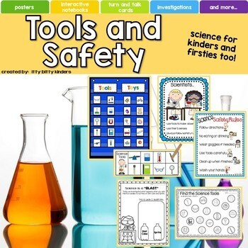 Science Tools and Safety For Kinders