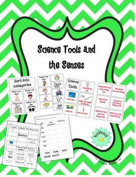 Science Tools and the Senses Center Activities