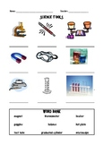 Science Tools for elementary students