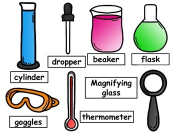 Science Tools with Labels