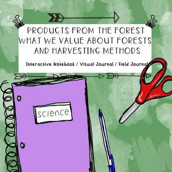 Science Trees & Forests - Products, Reasons We Value Forests, Harvesting Methods