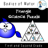 Science Triangle Puzzle: Bodies of Water (Water on Earth)