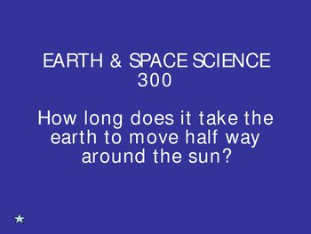Science Trivia Game