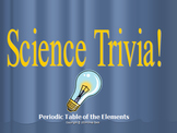 Science Trivia Game Periodic Table