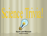 Science Trivia Game Rocks and Minerals
