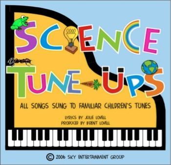 Science Tune-Ups: 20 Recorded Science Songs MP3