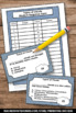 Clouds Types Task Cards for Weather Unit, Spring or Summer