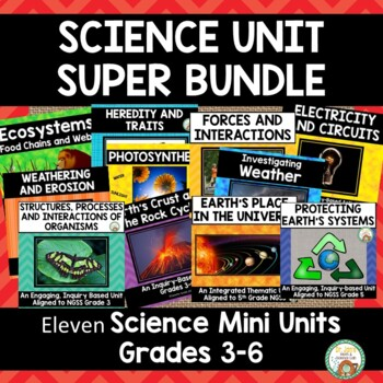 Science Unit Big Bundle!