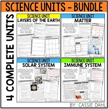 Science Unit Bundle