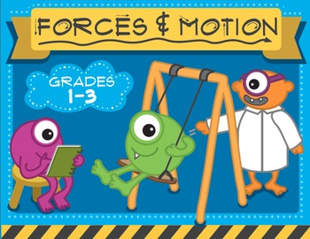 Science Unit Bundle! Weather, Forces & Motion and States of Matter