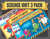 Science Unit Bundle! Weather, Forces & Motion and States o