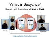 Science Unit: Buoyancy with Workbook and ASL support