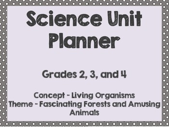 Science Unit & Lesson Plans: Plant and Animal Adaptation and Environment