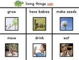 Science Unit: Living & Non-living with Workbook