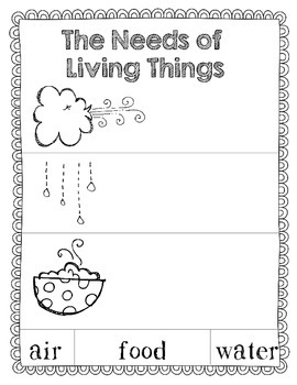 Science Unit: Living Things